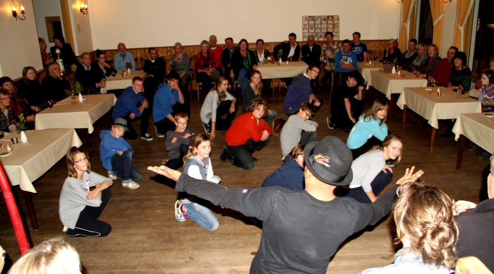 Slide 5: Workshop Flashmob
