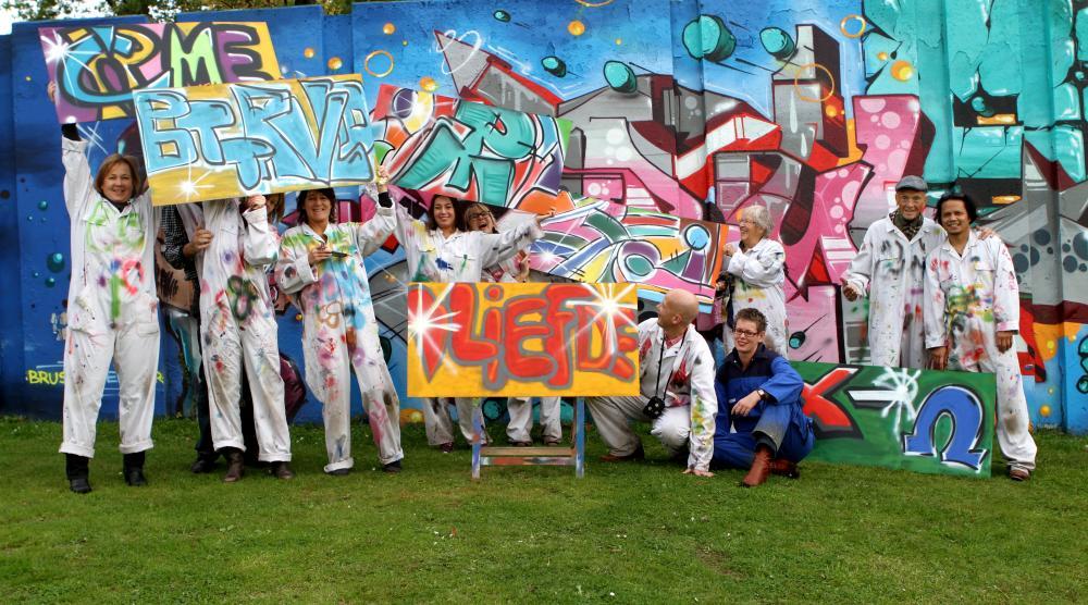 Slide 4: Workshop Graffiti